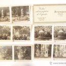 Fotografía antigua: ESTUCHE CON 10 VISTAS ESTEROSCÓPICAS. ARANJUEZ ( MADRID). Nº 26,1ª SERIE J. CODINA.. 1925. Lote 47332565