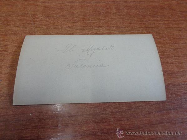 Fotografía antigua: FOTOGRAFÍA ESTEREOSCÓPICA. VALENCIA, EL MIGUELETE. PRINCIPIOS S. XX - Foto 2 - 47815621
