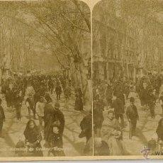 Old photograph - L.Lévy. 1125. Barcelona, rambla del centro. - 47960341