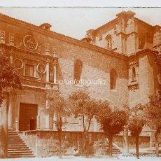 Old photograph - ESPAÑA, pueblo por identificar, 1910s. Cristal positivo estereo 6x13 cm. FXP - 48446672