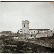 Fotografía antigua: SANTUARI DEL CORREDOR, MONTNEGRE, 1915'S, CRISTAL POSITIVO ESTEREO 6X13CM. FXP. Lote 48493687