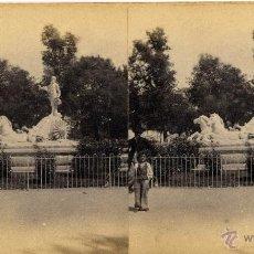 Old photograph - Lamy. 6.Madrid. Fuente de Neptuno. - 48571546