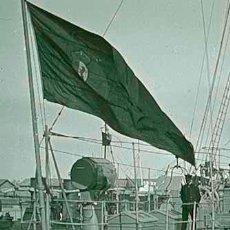 Fotografía antigua: BUQUE DE GUERRA. VICTORIA. PUERTO. BARCELONA. PRECIOSA IMAGEN. C. 1915. Lote 48600194
