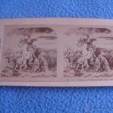 Fotografía antigua: FOTO ESTEREOSCOPICA.LA SERIE DE LA CRUCIFIXIÓN, DE LA REPRESENTACIÓN DE LA PASIÓN.Nº10. Lote 48601865
