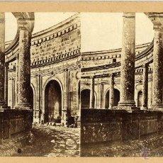 Fotografía antigua: GAUDIN. 341. GRENADE. LE PALAIS DE CHARLES V. GRANADA, PALACIO DE CARLOS V. ALHAMBRA.. Lote 49036942