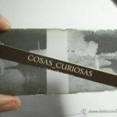Fotografía antigua: VALLADOLID -ORILLA RIO PISUERGA Y FABRICAS - RARO NEGATIVO CRISTAL ESTEREOSCOPICO AÑOS 1900. Lote 49220798