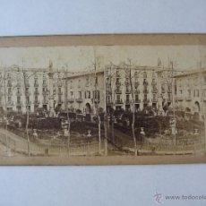 Old photograph - 241.BARCELONA. PLAZA DEL DUQUE DE MEDINACELI. FOTÓGRAFO EDITOR GAUDIN. PARÍS - 49372440