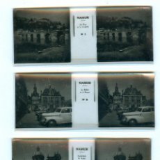 Fotografía antigua: NAMU 12 POSITIFS STEREOSCOPIQUES SUR FILM ESTEREOSCÓPICA FRANCIA FRANCE BRUGUIERE. Lote 49445720