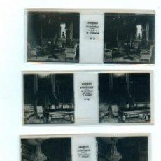 Fotografía antigua: FONTAINEBLEAU 12 POSITIFS STEREOSCOPIQUES SUR FILM ESTEREOSCÓPICA FRANCIA FRANCE BRUGUIERE. Lote 49445810