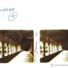Fotografía antigua: GERONA - CRISTAL ESTEREOSCOPICO. Lote 49575805
