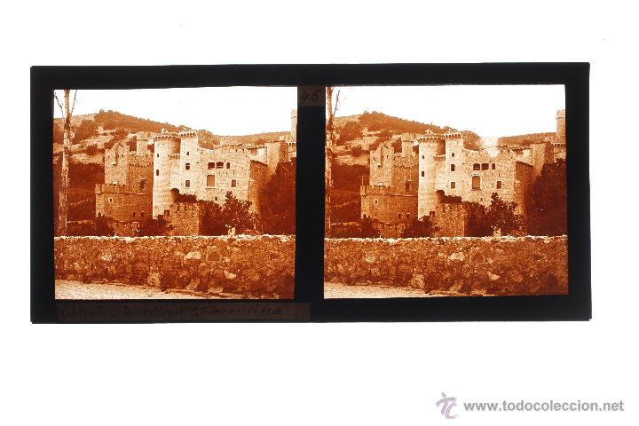 Fotografía antigua: CANET DE MAR, SANTA FLORENTINA, 1910S. CRISTAL POSITIVO ESTEREO 6X13 CM. - Foto 2 - 49751512