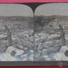 Fotografía antigua - VISTA ESTEREOSCÓPICA. SAMARITAN CAMP. . 9 X 18 CM. 1903. - 50157458
