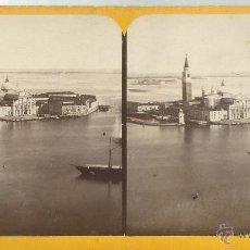 Fotografía antigua: ESTEREOSCOPIA DE VISTA DE ITALIA. Lote 50691871