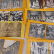 Fotografía antigua: LOTE 13 FOTOGRAFIAS ESTEREOSCOPICAS PARIS PALACIO VERSALLES . Lote 50763601