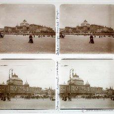 Fotografía antigua: HOLANDA, HOLLAND. 1915'S. SCHEVENINGEN, 2 CRISTALES POSITIVOS ESTEREO 6X13 CM.. Lote 51397908