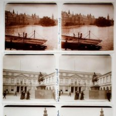 Fotografía antigua: HOLANDA, HOLLAND. 1915'S. LA HAYA, DEN HAAG, 9 CRISTALES POSITIVOS ESTEREO 6X13 CM. VER. Lote 51398211