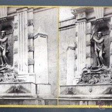 Fotografía antigua: FUENTE DE NEPTUNO DE JOAN ENRICH, BARCELONA, Nº 263: FOTÓGRAFO FRANK M. GOOD, LONDON. Lote 51579755