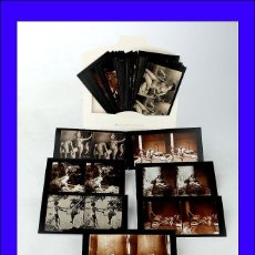Fotografía antigua: LOTE DE 48 FOTOGRAFÍAS DE DESNUDOS ANTIGUOS. REIMPRESIONES DE FRANCIA, CIRCA 1910. Lote 51687252