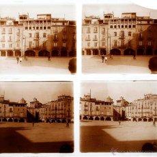 Fotografía antigua: VIC, 1915 APROX. 2 CRISTALES POSITIVOS ESTEREO 6X13 CM.. Lote 51863798