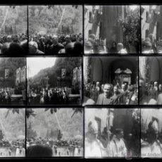 Fotografía antigua: MONTSERRAT, 1920'S. LOTE DE 6 CRISTALES NEGATIVOS ESTEREO 6X13 CM.. Lote 51869582
