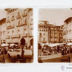 Fotografía antigua: VIC PROBABLEMENTE, 1915'S. CRISTAL POSITIVO ESTEREO 6X13 CM.. Lote 51878804