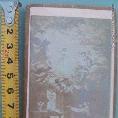Fotografía antigua: FOTOGRAFÍA ANTIGUA MEDIADOS S.XIX, CIRCA 1860S, DE UN CUADRO DE MURILLO. LA VISIÓN DE ST. ANTONIO DE. Lote 52282903