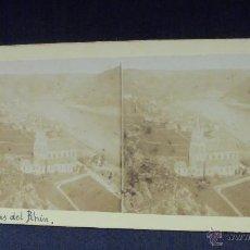 Fotografía antigua: ORILLAS DEL RHIN - TOMA DESDE OBERWESEL. Lote 52390312