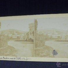 Fotografía antigua: ORILLAS DEL RHIN - BADEN-BADEN VUE DE L'HOTEL D'ANGLETERRE - . Lote 52406694