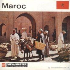 Fotografía antigua: VIEW MASTER - MAROC (3 DISCOS) . Lote 52459428
