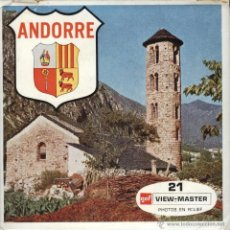 Fotografía antigua: VIEW MASTER - ANDORRE (3 DISCOS). Lote 52461657