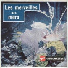 VIEW MASTER - LES MERVEILLES DES MERS (3 DISCOS)