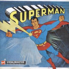Fotografía antigua: VIEW MASTER - SUPERMAN (3 DISCOS). Lote 52462187