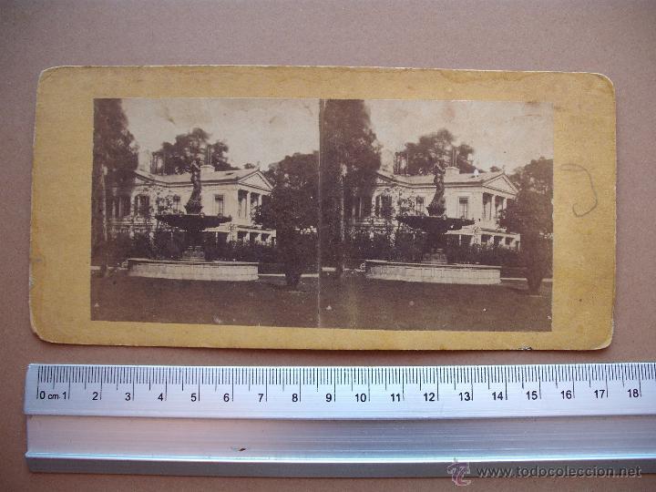 Fotografía antigua: ESTEREOSCOPICAS DEL 1850 A 1900 CREO? - 11-unidades - Foto 4 - 52527993