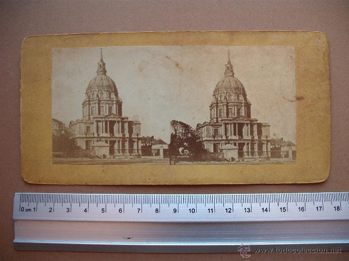 Fotografía antigua: ESTEREOSCOPICAS DEL 1850 A 1900 CREO? - 11-unidades - Foto 5 - 52527993