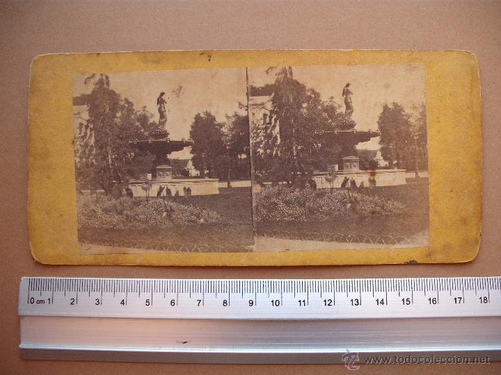 Fotografía antigua: ESTEREOSCOPICAS DEL 1850 A 1900 CREO? - 11-unidades - Foto 7 - 52527993
