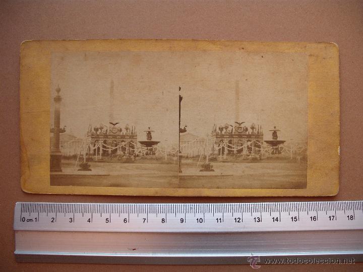 Fotografía antigua: ESTEREOSCOPICAS DEL 1850 A 1900 CREO? - 11-unidades - Foto 9 - 52527993