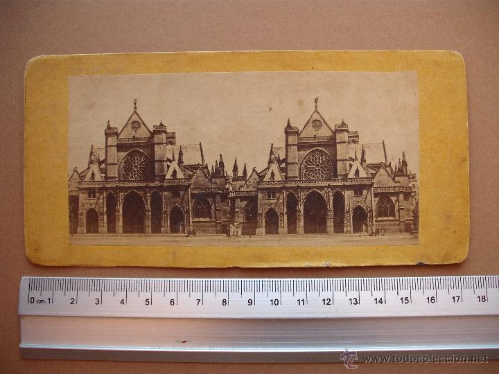 Fotografía antigua: ESTEREOSCOPICAS DEL 1850 A 1900 CREO? - 11-unidades - Foto 10 - 52527993