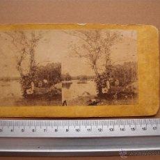Fotografía antigua: ESTEREOSCOPICAS DEL 1850 A 1900 CREO? -. Lote 52529503