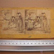 Fotografía antigua: ESTEREOSCOPICAS DE FINALES 1800 A 1900 CREO? - 6 -UNIDADES. Lote 52529587