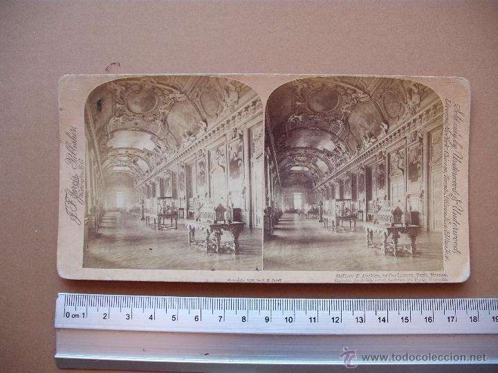 ESTEREOSCOPICAS UNDERWOOD & UNDERWOOD 1889 ( FRANCIA) 7 -UNIDADES (Fotografía Antigua - Estereoscópicas)