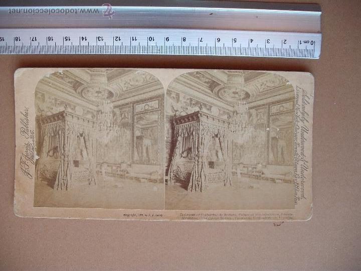 Fotografía antigua: ESTEREOSCOPICAS UNDERWOOD & UNDERWOOD 1889 ( FRANCIA) 7 -unidades - Foto 2 - 52570869