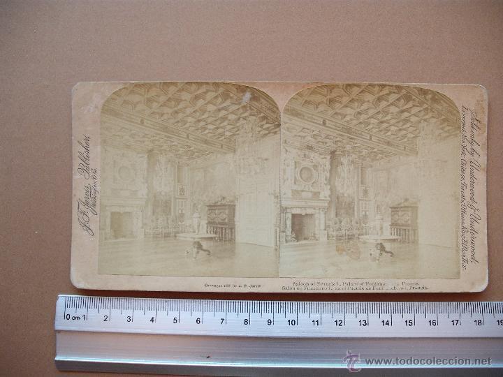Fotografía antigua: ESTEREOSCOPICAS UNDERWOOD & UNDERWOOD 1889 ( FRANCIA) 7 -unidades - Foto 3 - 52570869