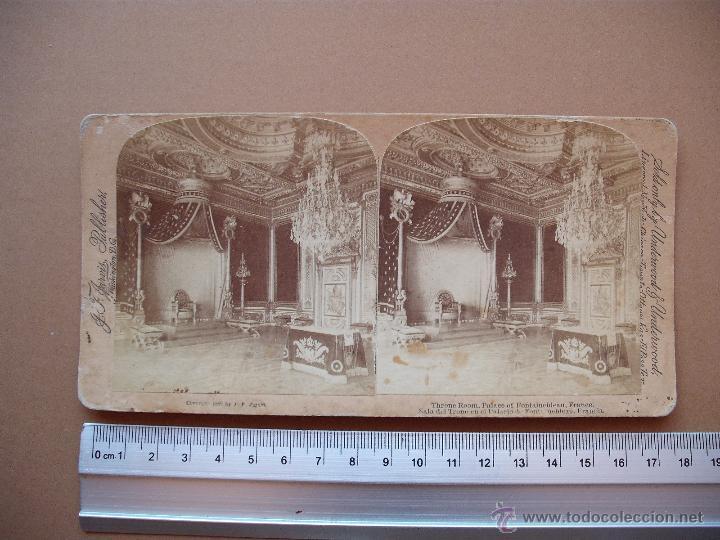 Fotografía antigua: ESTEREOSCOPICAS UNDERWOOD & UNDERWOOD 1889 ( FRANCIA) 7 -unidades - Foto 7 - 52570869