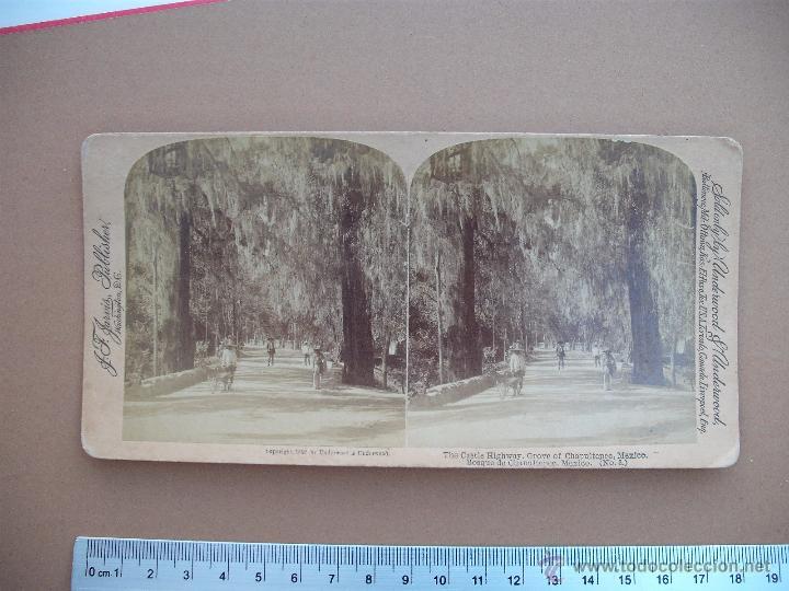 Fotografía antigua: ESTEREOSCOPICAS UNDERWOOD & UNDERWOOD 1892 MEXICO - DOS - Foto 2 - 53316439