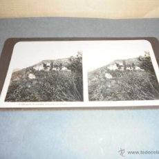 Fotografía antigua: GRANADA - VISTA ESTEREOSCÓPICA 5 GRENADE - ALHAMBRA ,VUE VERS LE GENERALIFE - 18X9 CM. . Lote 52799209