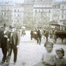 Fotografía antigua: 3 FOTOGRAFIAS ESTEREOSCOPICAS - CON PERSONAS - JUEGO RANA - S.XIX - 17,5X8,5. Lote 53001292
