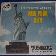 Fotografía antigua: VIEW MASTER - NEW YORK CITY (1955). Lote 53634656