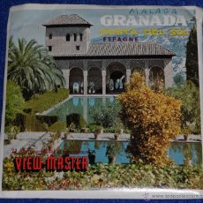 Fotografía antigua: VIEW MASTER - GRANADA - COSTA DEL SOL (1955). Lote 53634797