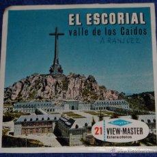 Fotografía antigua: VIEW MASTER - EL ESCORIAL - VALLE DE LOS CAÍDOS - ARANJUEZ (1955). Lote 53634823
