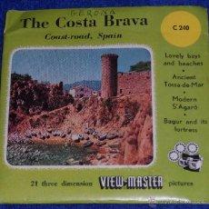 Fotografía antigua: VIEW MASTER - COSTA BRAVA - GERONA (1955). Lote 53634868